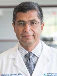 Daniel D.  Lozano, MD, MBA headshot