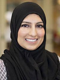Nida M. Khan, MD headshot